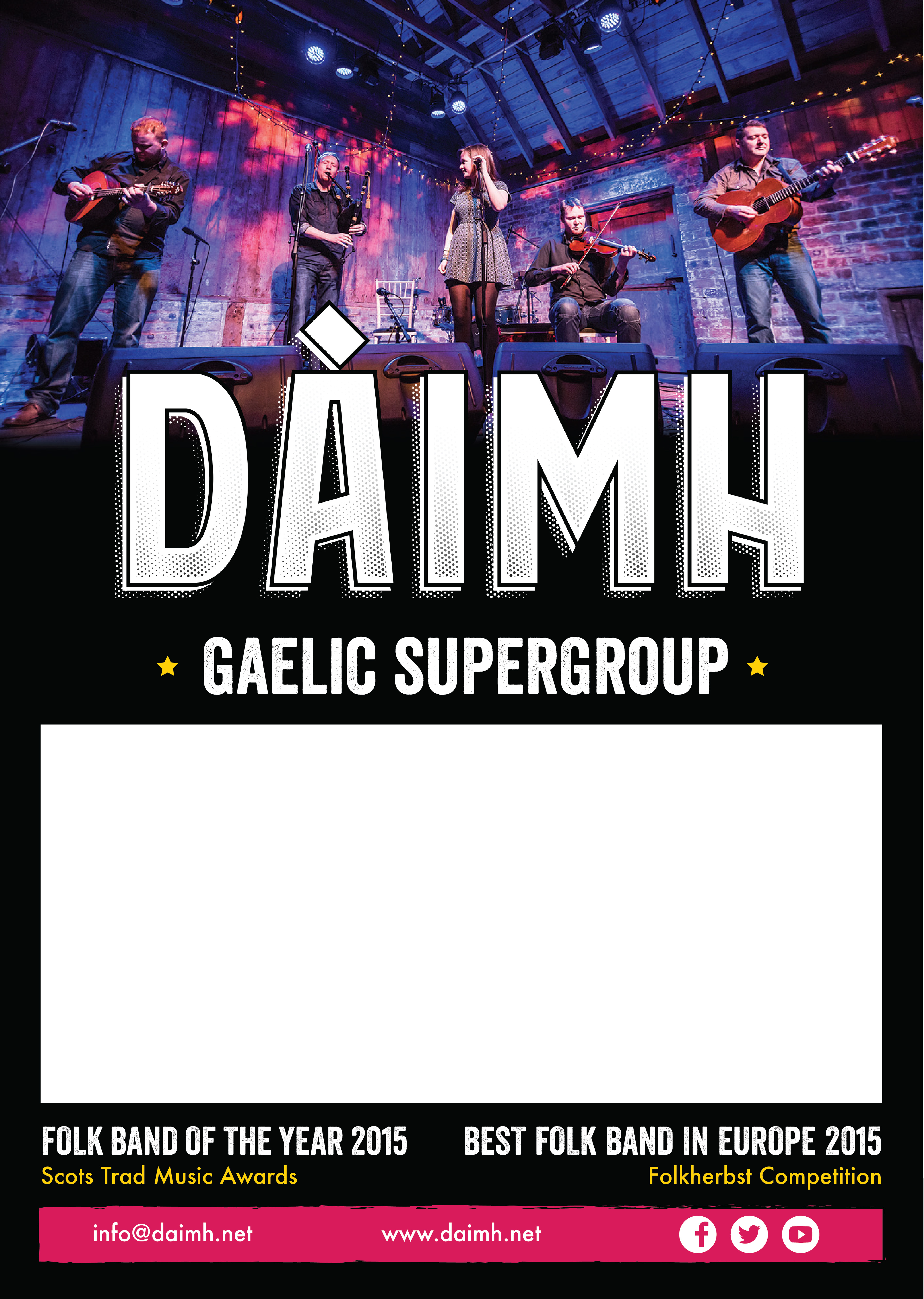 DAIMH LIVE POSTER